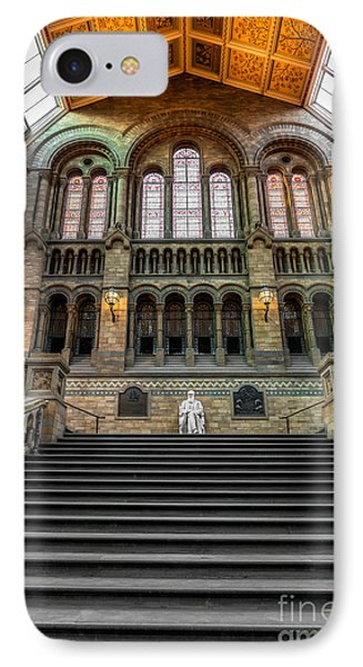 Natural History Museum IPhone Case by Adrian Evans