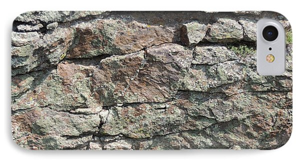 Natural Stone Wall IPhone Case by Jayne Wilson