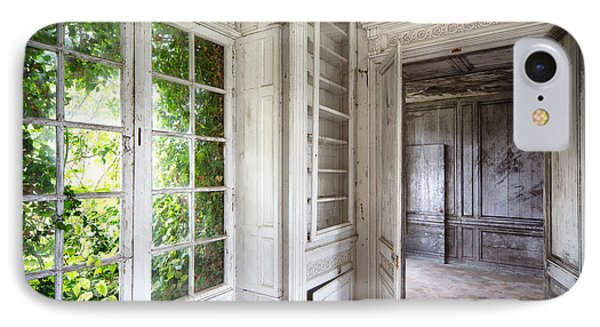 Nature Closes The Window - Urban Decay IPhone Case by Dirk Ercken