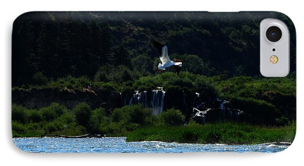 Nature In Flight IPhone Case by Janice Westerberg