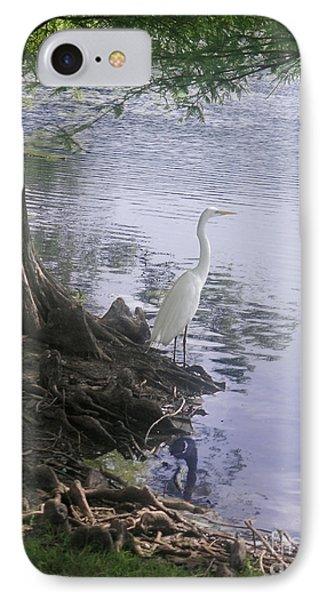 Nature In The Wild - Musings By A Lake Phone Case by Lucyna A M Green