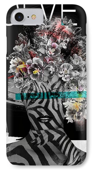 IPhone Case featuring the digital art Nature Is God by Nola Lee Kelsey