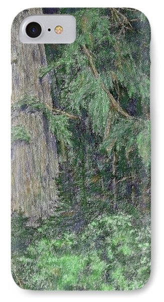 Nature Study No 1 Colorized IPhone Case