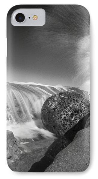 Nature Throws A Gutter Ball 1 IPhone Case by Scott Campbell