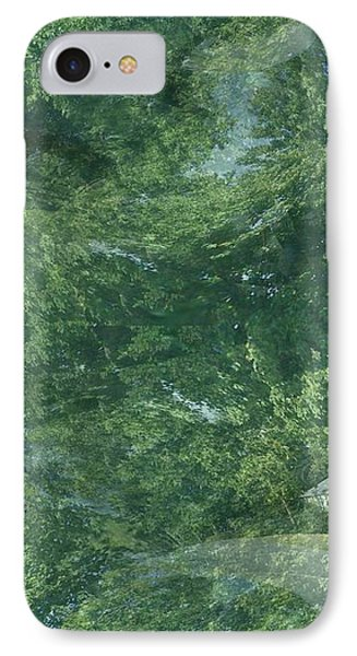 Nature Trees Fractal IPhone Case by Skyler Tipton