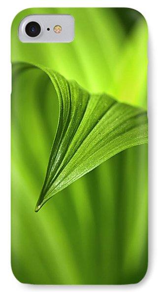 Nature Unfurls Phone Case by Christina Rollo