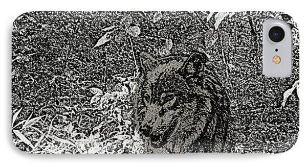 Nature Walk Wolf Phone Case by Debra     Vatalaro