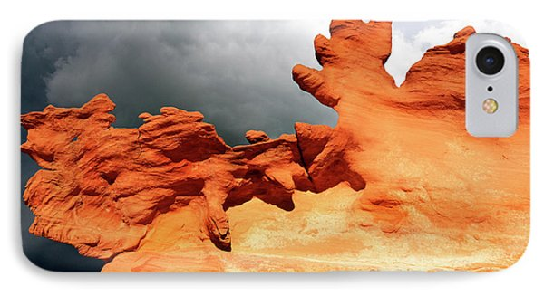 IPhone Case featuring the photograph Nature's Artistry Nevada 2 by Bob Christopher