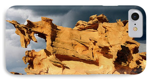IPhone Case featuring the photograph Nature's Artistry Nevada 3 by Bob Christopher
