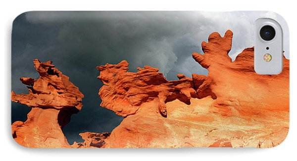 IPhone Case featuring the photograph Nature's Artistry Nevada by Bob Christopher