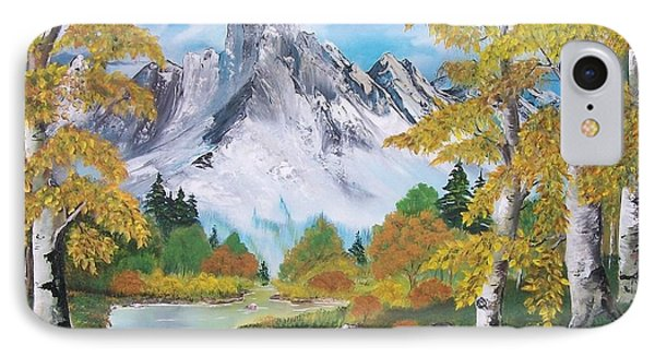 IPhone Case featuring the painting Nature's Beauty by Sharon Duguay
