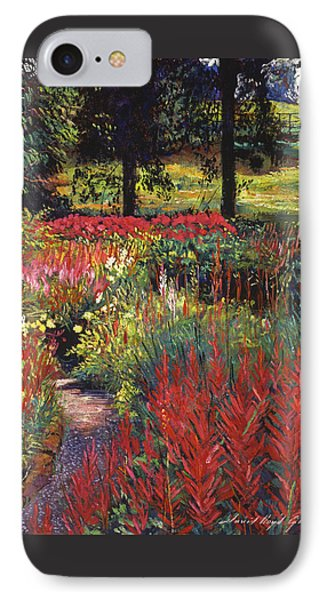 Nature's Dreamscape IPhone Case by David Lloyd Glover