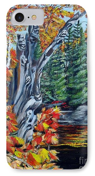 Natures Faces Phone Case by Marilyn  McNish
