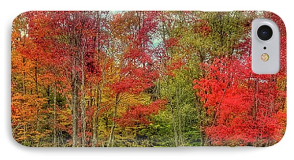 IPhone 7 Case featuring the photograph Natures Fall Palette by David Patterson