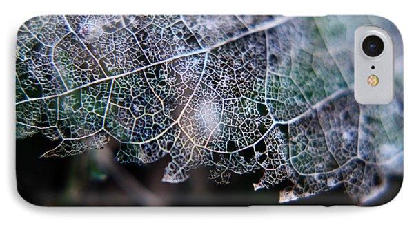 Nature's Lace IPhone Case by Rebecca Davis