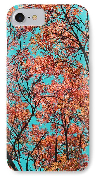 IPhone Case featuring the photograph Natures Magic - Orange by Rebecca Harman