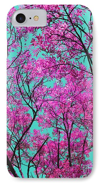 IPhone Case featuring the photograph Natures Magic - Pink And Blue by Rebecca Harman