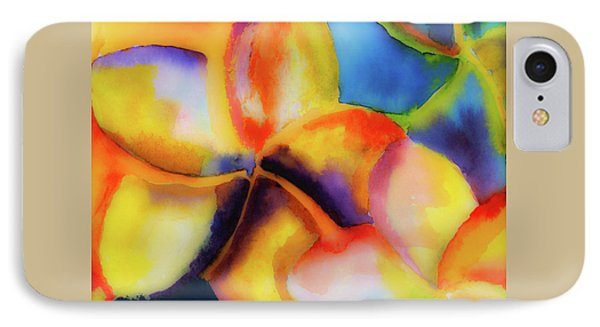 IPhone Case featuring the painting Nature's Pinwheels by Stephen Anderson