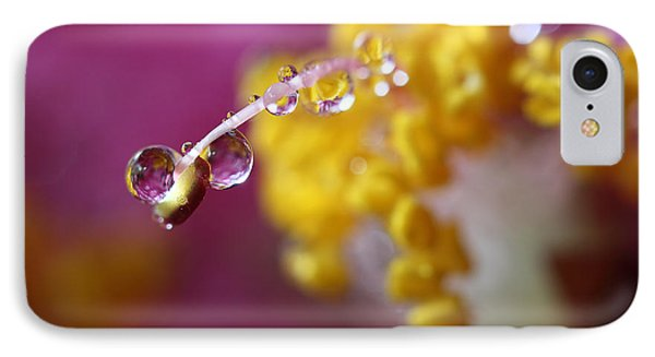 Natures Secrets Hide Among The Droplets IPhone Case by Mike Eingle
