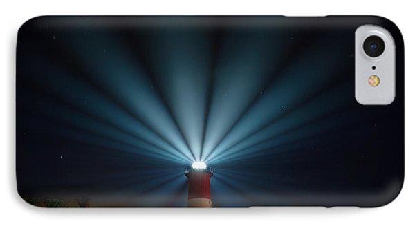 Nauset Beach Light IPhone Case by Bill Wakeley