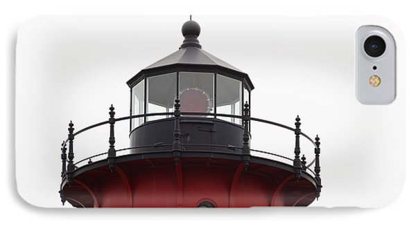 Nauset Lighthouse Detail IPhone Case by Michelle Wiarda