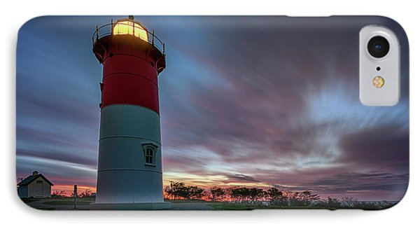Nauset Lighthouse IPhone Case by Rick Berk