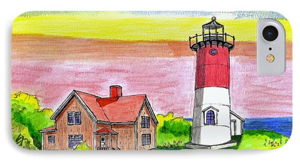 Nauset Point Lighthouse IPhone Case