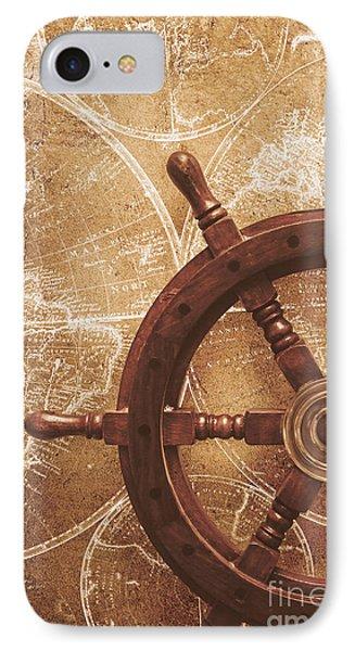Nautical Exploration  IPhone Case