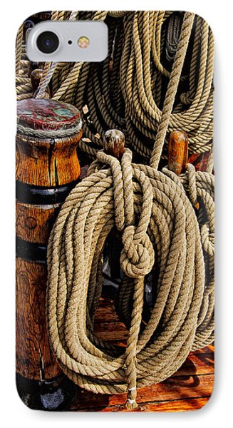 Nautical Knots 17 Oil IPhone 7 Case