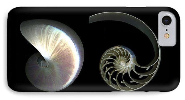 Nautilus Deconstructed IPhone Case by Christian Slanec