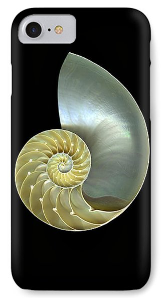 Nautilus Nr.1 Phone Case by Christian Slanec