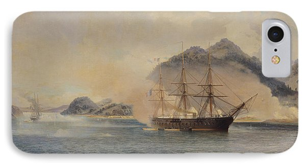 Naval Battle Of The Strait Of Shimonoseki IPhone Case