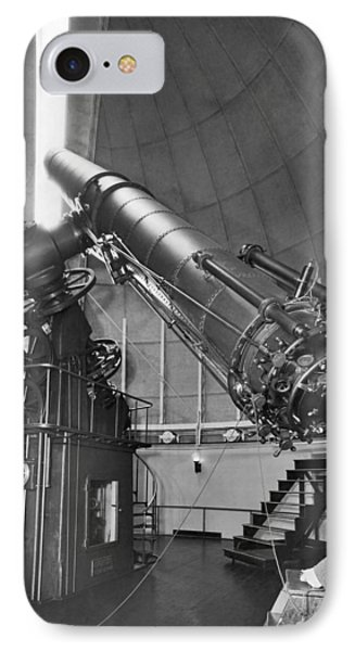 Naval Observatory Telescope IPhone Case by Underwood Archives