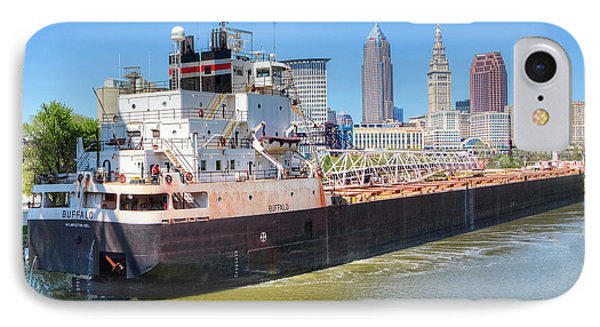 Navigating The Cuyahoga IPhone Case by Brent Durken