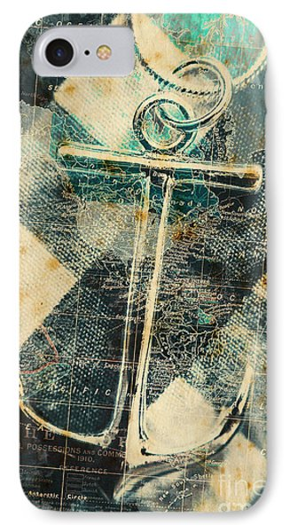 Navigation Sea Anchor IPhone Case by Jorgo Photography - Wall Art Gallery