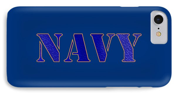 Navy IPhone Case by George Robinson
