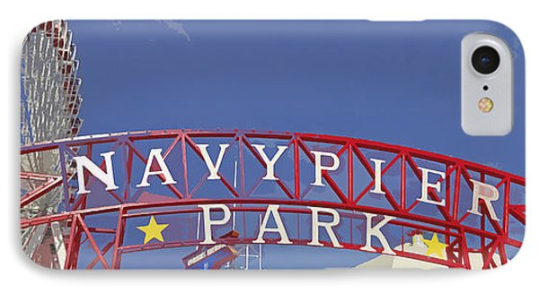 Navy Pier IPhone Case by Mary Machare
