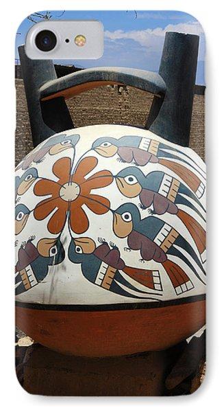 Nazca Ceramics Peru IPhone Case by Aidan Moran