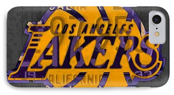 Nba Series Coming Along!  #lakers IPhone Case by Design Turnpike