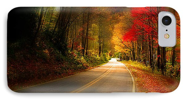 Nc Mountain Fall Drive IPhone Case