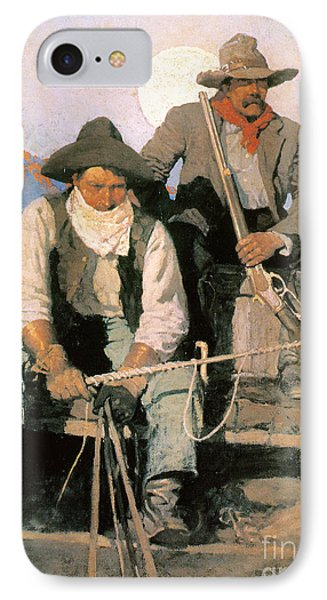 N.c. Wyeth: The Pay Stage Phone Case by Granger