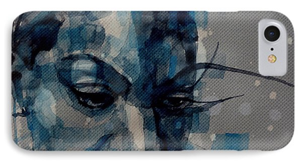 Ne Me Quitte Pas  IPhone Case by Paul Lovering