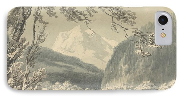 Near Grindelwald IPhone Case by Joseph Mallord William Turner