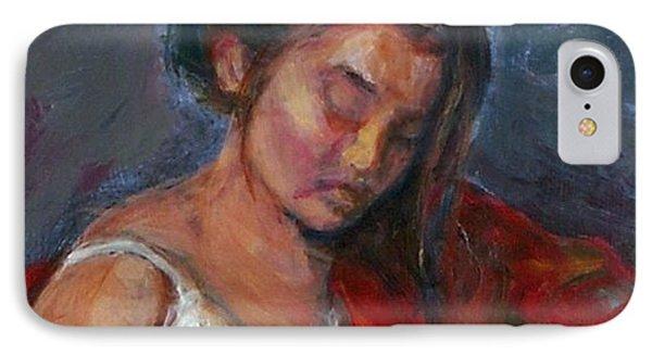 Near Sleep Phone Case by Quin Sweetman