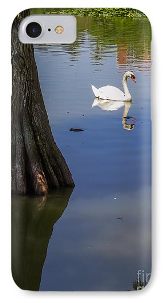 Near The  Cypress Tree IPhone Case