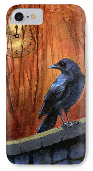 IPhone Case featuring the painting Nearing Midnight by Terry Webb Harshman