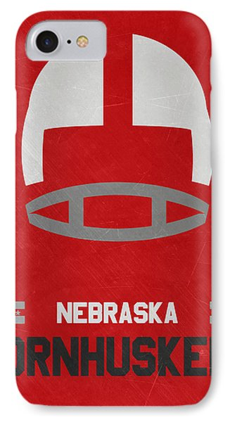 Nebraska Cornhuskers Vintage Art IPhone Case