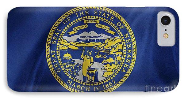 Nebraska Flag IPhone Case