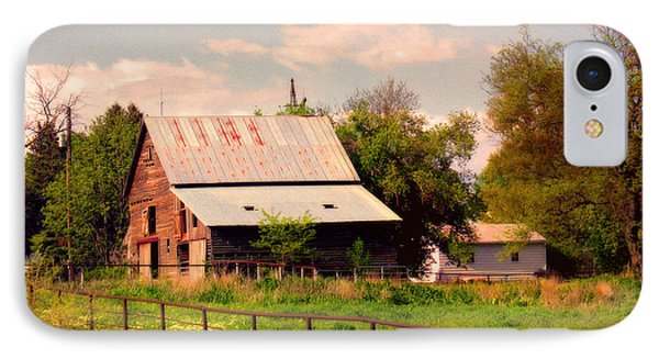 IPhone Case featuring the photograph Nebraska In The Summer Afternoon by Tyler Robbins