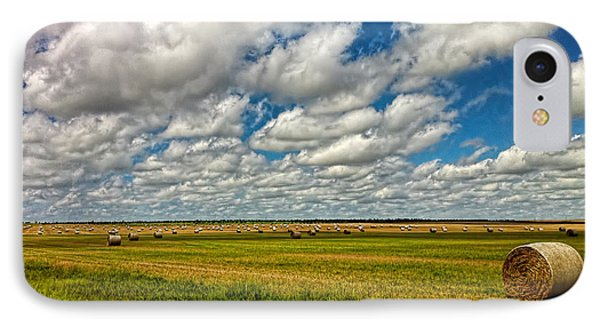 Nebraska Wheat Fields IPhone Case
